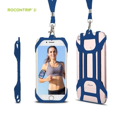 Rocontrip Running Armband Phone Lanyard Adjustable Wristband  Hands-Free Safety