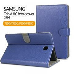 "Rocontrip Tablet protect book cover book cover For SM Galaxy Tab A 8.0"" T350/T355C"