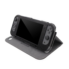 Rocontrip NS Case PU Leather Stand Case with Magnetic Cover for NS Console and Joy