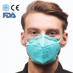 3M 9132 Medical Grade Mask Surgical Mask Healthcare Respiratory Mask Filter over 95% of Particulate Matter to Anti-Germ Droplets Body Fluids Secretion