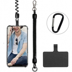 ROCONTRIP Mechanical Spring Lanyards with logo custom phone lanyard cell phone lanyard for phone